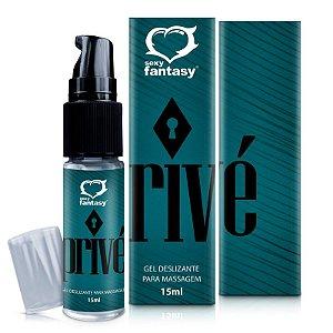 Gel lubrificante à base de silicone para massagem Privé