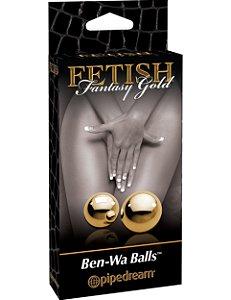 Bolas de Pompoarismo Fetish Fantasy Gold
