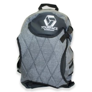 Mochila Your Face Skate Bag Chumbo