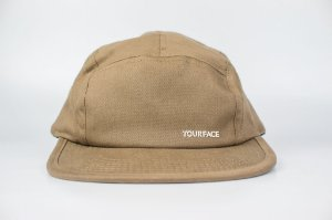 Boné 5 Panel Your Face Desert