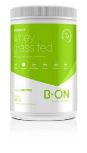 Workout Whey Protein Grass Fed Neutro 457g B-On