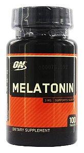 Melatonina 3mg 100 Comprimidos Optimum Nutrition