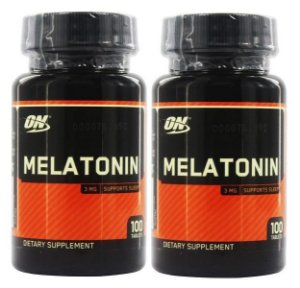 2 Melatonina 3mg 100 comprimidos Optimum Nutrition