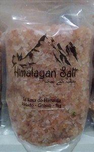 Sal Rosa do Himalaia Grosso 1kg - Himalayan Salt
