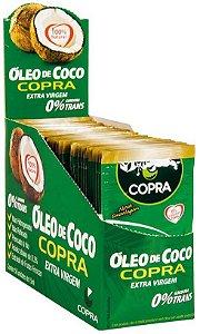 Óleo de Coco Extra Virgem Sachê 40 unidades 15ml Copra