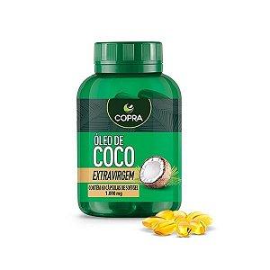 Óleo de Coco Extra Virgem 1000mg 60 cápsulas Copra