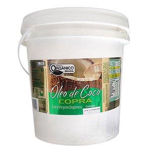 Óleo de Coco Extra Virgem Orgânico Balde 3,2 Litros Copra