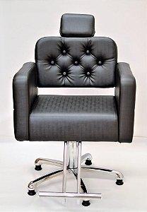 Cadeira de Corte Módena Encosto Fixo