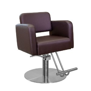 Cadeira de Cabeleireiro Falerna Encosto Fixo sem Cabeçote