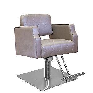 Cadeira de Cabeleireiro Treviso Encosto Fixo sem Cabeçote