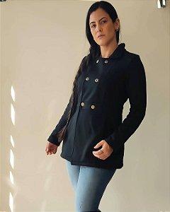 casaco sobretudo em moletom