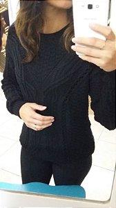 casaco preto Fato Básico