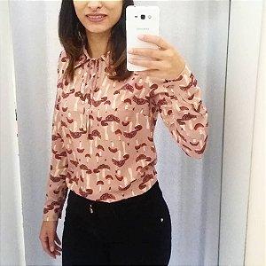 Camisa cogumelos Fato Básico