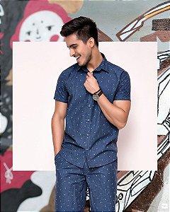 Camisa masculina manga curta Zait