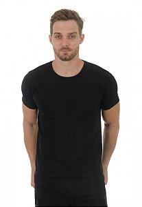 Camiseta masculina preta básica