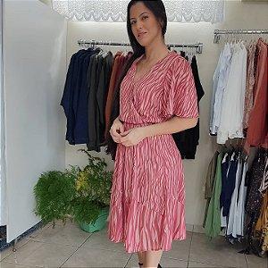 Vestido Midi estampado