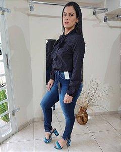 calça Jeans com cinta