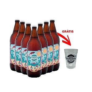 36 Pilsen Praia 1Litro + 1 copo americano grátis