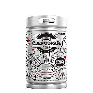 CHOPP CAPUNGA LAGER 50L - FRETE GRÁTIS RECIFE