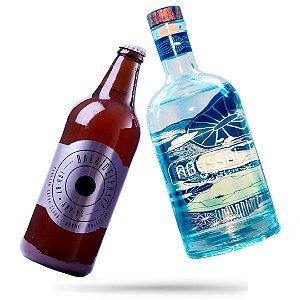 12 Bala de Prata 600ml + Gin Abyssal