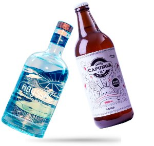 8 Capunga Lager 600ml + Gin Abyssal
