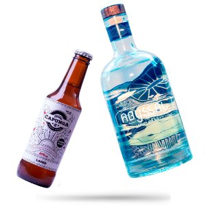 1 GIN ABYSSAL + 12 CAPUNGA LAGER 275ML