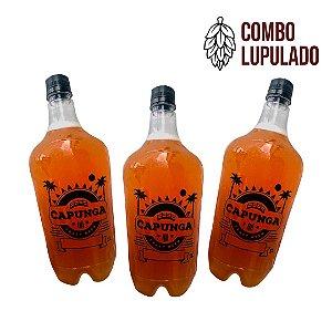 COMBO LUPULADO: 1L Bala de Prata + 1L Cumade Florzinha + 1L IPA Cajá