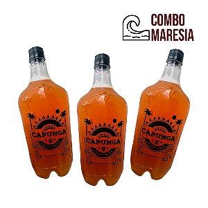 COMBO MARESIA: 1L Lager + 1L Pilsen Praia + 1L Blond Ale - Pet Growler Incluso