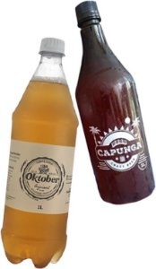 COMBO OKTOBER: 7 PET GROWLER 1L CHOPP OKTOBER PILSEN + 3 PET GROWLER 1L CHOPP OKTOBER IPA