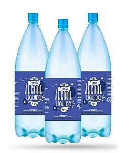 24 Álcool Líquido 70% - A PONTE - 1L