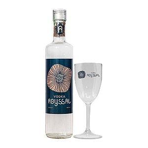 Vodka Abyssal 500ml + Taça Abyssal (LANÇAMENTO)