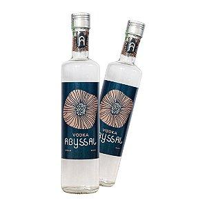 2 Vodka Abyssal 500ml (LANÇAMENTO)