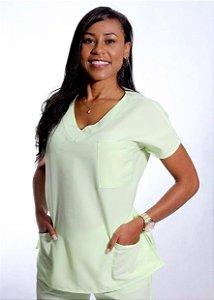 Scrub Verde Chartreuse Feminino