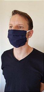 Máscara Dupla Azul Navy