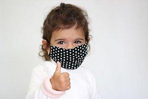 Máscara Infantil de Poa e música (para crianças de 2 a 5 anos)