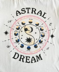 Camiseta Astral Dream - Branca