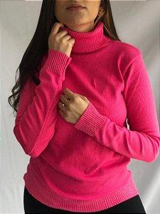 Cacharrel Tricô - Rosa Chiclete