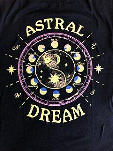 Camiseta Astral Dream - Preta