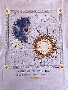 Camiseta Sol e Lua - Branca
