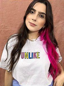 Camiseta Unlike - Branca