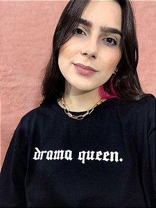 Camiseta Drama Queen - Preta