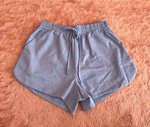 Short Linho - Azul