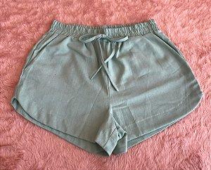 Short Linho - Verde