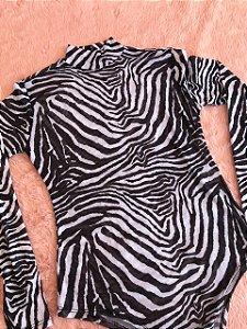 Body Tule - Zebra