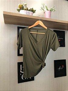 T-shirt Podrinha Verde Militar