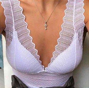 Cropped Pavão - Branco
