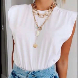 T-shirt Muscle - Branca