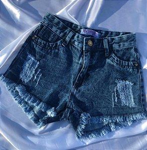 Short Jeans - Manchado