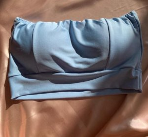 Cropped Faixa - Azul Bebê