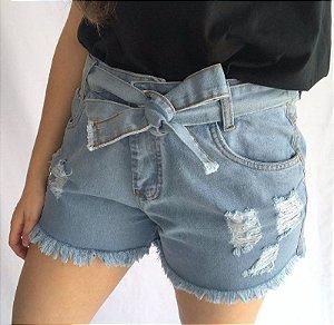 Short Jeans - Cinto Claro